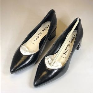 [233]Anne Klein 6M Dress Pumps - Black Patent
